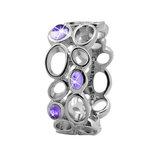800-3.10.A Big Amethyst Bubbles silver
