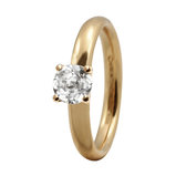800-3.11.B Topaz Solitaire gold